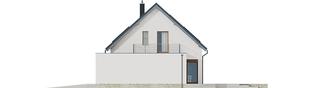 Projekt domu Santiago G1 ENERGO PLUS - elewacja prawa