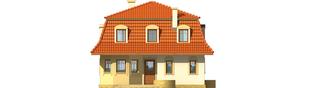 Projekt domu Agata - elewacja frontowa