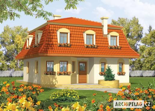 Projekt rodinného domu - Agáta