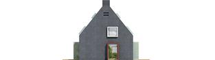 Projekt domu Stone - elewacja frontowa