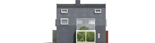Projekt domu Stone - elewacja lewa