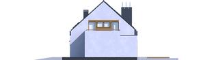 Projekt domu Sam G1 - elewacja prawa