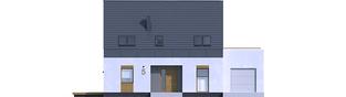 Projekt domu Sam G1 - elewacja frontowa
