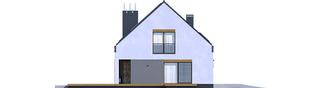 Projekt domu Sam G1 - elewacja lewa