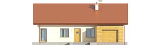 Projekt domu Edwin G1 ENERGO - elewacja frontowa