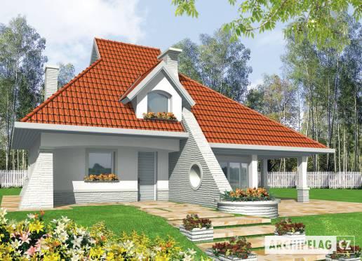 Projekt rodinného domu - Něha