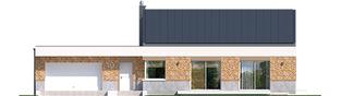 Projekt domu EX 11 G2 (wersja A) soft - elewacja frontowa