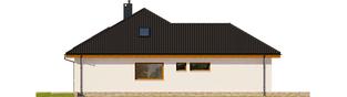 Projekt domu Astrid (mała) II G2 ENERGO PLUS - elewacja lewa