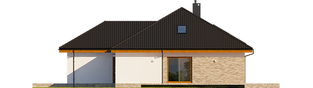 Projekt domu Astrid (mała) II G2 ENERGO PLUS - elewacja prawa