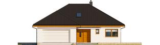 Projekt domu Astrid (mała) II G2 ENERGO PLUS - elewacja frontowa