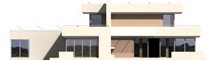 Projekt domu Steps G2 - elewacja lewa