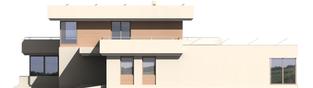 Projekt domu Steps G2 - elewacja prawa