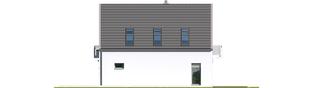 Projekt domu Noel G1 ENERGO - elewacja prawa