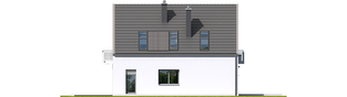 Projekt domu Noel G1 ENERGO - elewacja lewa