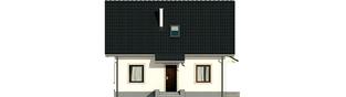 Projekt domu Celinka - elewacja frontowa