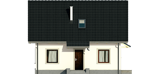 Celinka - Projekt domu Celinka - elewacja frontowa
