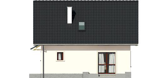 Celinka - Projekt domu Celinka - elewacja tylna