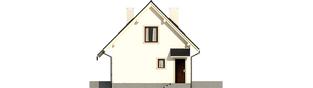 Projekt domu Celinka - elewacja prawa