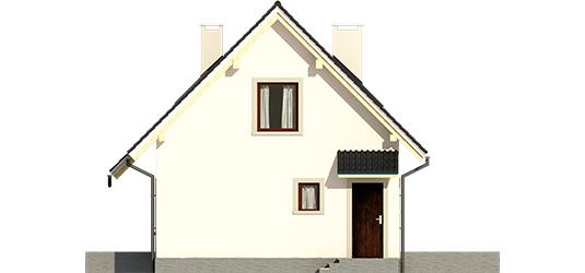 Celinka - Projekt domu Celinka - elewacja prawa