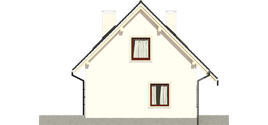 Celinka - Projekt domu Celinka - elewacja lewa
