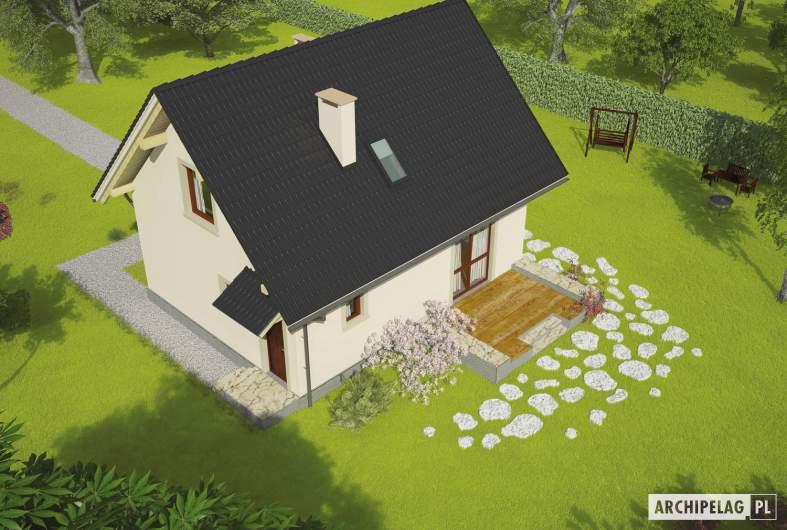 Projekt domu Celinka - widok z góry
