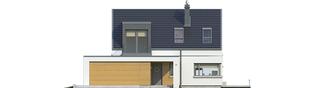 Projekt domu Edgar II G2 ENERGO - elewacja frontowa