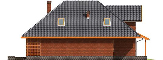 Ilona G1 - Projekt domu Ilona G1 - elewacja lewa