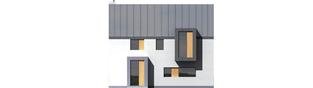 Projekt domu Blueberry - elewacja frontowa