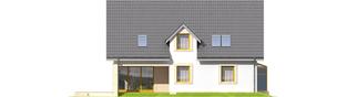 Projekt domu Edit II G1 - elewacja lewa
