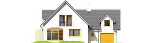 Projekt domu Edit II G1 - elewacja frontowa