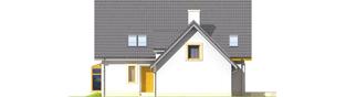 Projekt domu Edit II G1 - elewacja prawa