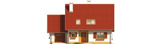 Projekt domu Lamia G1 - elewacja frontowa