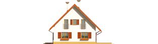 Projekt domu Lamia G1 - elewacja prawa