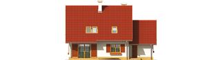 Projekt domu Lamia G1 - elewacja tylna
