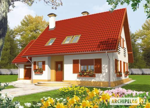 Projekt rodinného domu - Lada