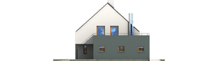 Projekt domu Igor G1 - elewacja prawa