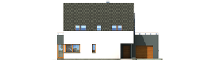 Projekt domu Igor G1 - elewacja frontowa