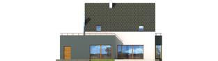 Projekt domu Igor G1 - elewacja tylna