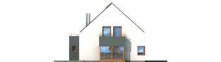 Projekt domu Igor G1 - elewacja lewa