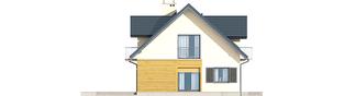 Projekt domu Marisa II G2 ENERGO - elewacja lewa