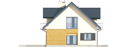Marise II G2 ENERGO - Projekty domów ARCHIPELAG - Marisa II G2 ENERGO - elewacja lewa