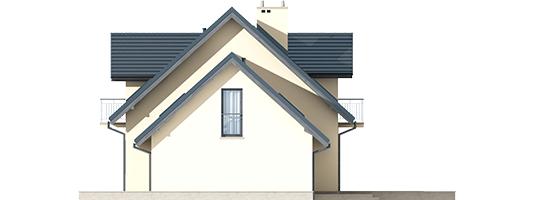 Marise II G2 ENERGO - Projekty domów ARCHIPELAG - Marisa II G2 ENERGO - elewacja prawa