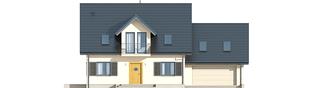 Projekt domu Marisa II G2 ENERGO - elewacja frontowa