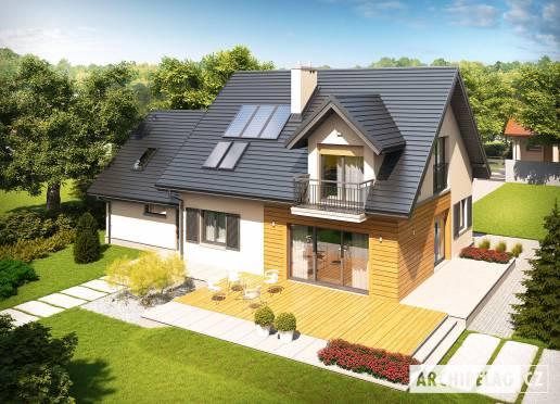 Projekt rodinného domu - Marisa II G2