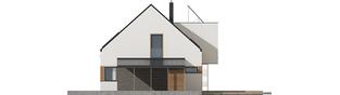 Projekt domu Neli W2 ENERGO PLUS - elewacja prawa