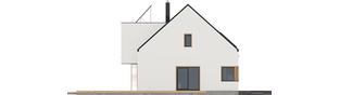Projekt domu Neli W2 ENERGO PLUS - elewacja lewa