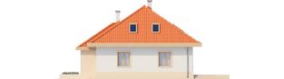 Projekt domu Celesta - elewacja prawa