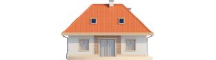 Projekt domu Celesta - elewacja tylna