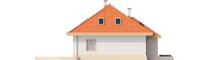 Projekt domu Celesta - elewacja lewa