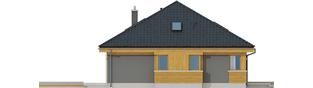 Projekt domu Gabriel G1 MULTI-COMFORT - elewacja lewa